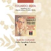 Copland: Symphony No. 3 - Danzon Cubano - El Salon Mexico by Eduardo Mata