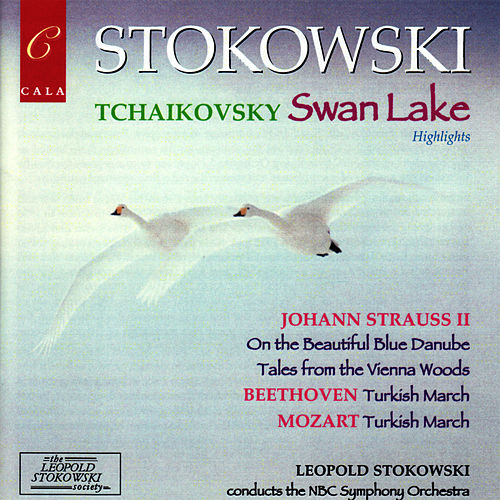 Highlights from Tchaikovsky's Swan Lake, Beethoven, Mozart and Johann Strauss II by NBC Symphony Orchestra