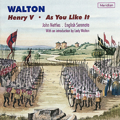 Walton: Henry V, As You Like It by English Serenata