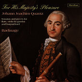 Quantz: For His Majesty's Pleasure - Sonatas and Pieces for Flute, Viola da Gamba and Harpsichord by Badinage