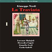 Great Opera Recordings / Verdi: La Traviata [1933], Volume 1 by La Scala Chorus and Orchestra