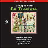 Great Opera Recordings / Verdi: La Traviata [1933], Volume 2 by La Scala Chorus and Orchestra