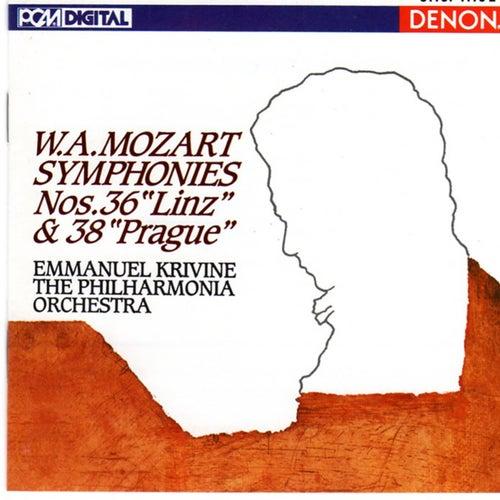 Mozart: Symphonies Nos. 36 'Linz' & 38 'Prague' by Philharmonia Orchestra