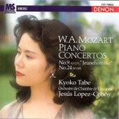 Mozart: Piano Concertos Nos. 9 & 24 by Kyoko Tabe