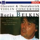 Glazunov & Shostakovich: Violin Concertos by Royal Philharmonia Orchestra