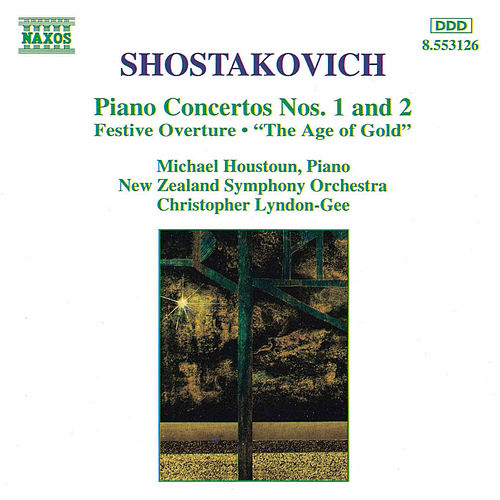 Piano Concertos Nos. 1 and 2 by Dmitri Shostakovich