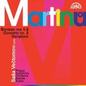 Martinu: Cello Sonatas No. 1-3 by Sasa Vectomov