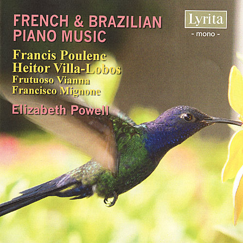 REAM2111 French & Brazilian Piano Music by Elizabeth Powell