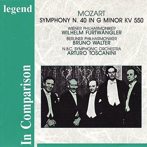 Mozart: Symphony No. 40 in G Minor, KV 550 - Furtwängler, Walter & Toscanni In Comparison by Various Artists