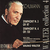 Schumann: Symphony No. 3 & 4 by Various Artists
