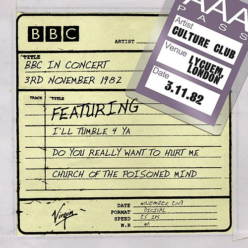 BBC In Concert (3rd November 1982) by Culture Club