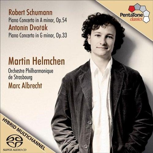 Schumann, R. / Dvorak, A.: Piano Concertos by Martin Helmchen