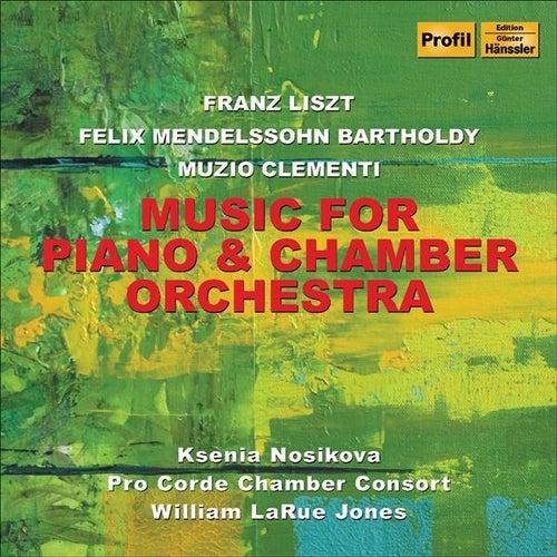 Liszt, F.: Malediction / Mendelssohn, Felix: Piano Concerto in A Minor / Clementi, M.: Piano Concerto by Ksenia Nosikova