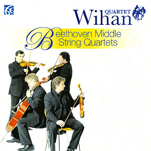 NI6109 Beethoven Middle String Quartets by Wihan Quartet