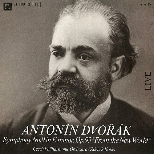 Dvorak: Symphony No. 9 in E minor by Czech Philharmonic Orchestra