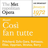 Mozart: Così fan tutte (January 22, 1972) by Various Artists