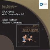 Brahms: Violin Sonatas Nos. 1-3 by Itzhak Perlman