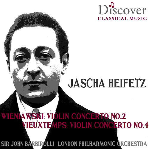 Wieniawski & Vieuxtemps: Violin Concerto No. 2 & Violin Concerto No. 4 by London Philharmonic Orchestra