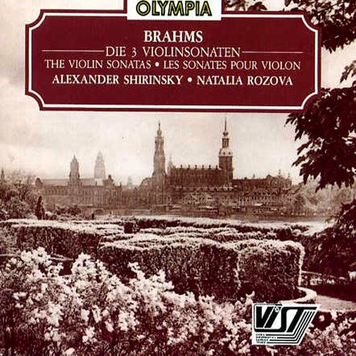 Brahms: Violin Sonatas by Alexander Shirinsky