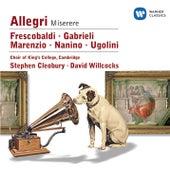 Nanino/Allegri/Marenzio/Frescobaldi/Ugolini/Gabrieli by Various Artists