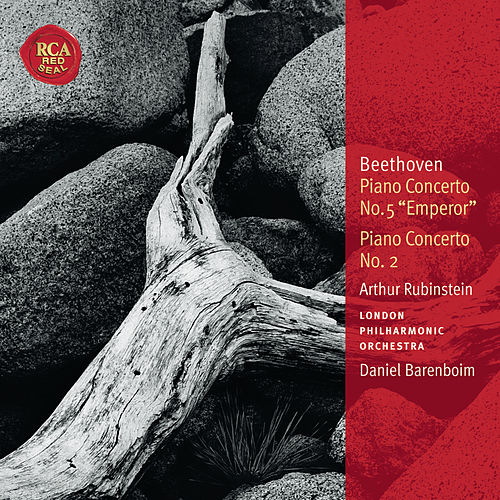 Beethoven: Piano Concertos Nos. 5 & 2: Classic Library Series by Arthur Rubinstein
