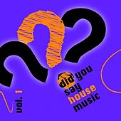 Did you say house music? vol. 1 by Various Artists