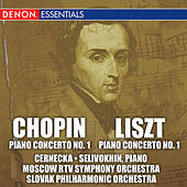 Chopin and Liszt: First Piano Concertos by Various Artists