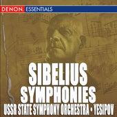 Sibelius: Symphonies Nos. 1, 2, 5 by Various Artists