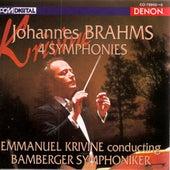 Brahms: Symphonies Nos. 1-4 by Bamberger Symphoniker