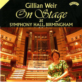 On Stage at Symphony Hall, Birmingham by Dame Gillian Weir