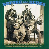 Before the Blues, Vol. 2: The Early American Black Music Scene by Various Artists