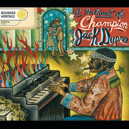 A Portrait Of Champion Jack Dupree by Champion Jack Dupree