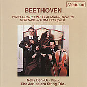 Beethoven: Piano Quartet Op. 16 & Op. 8 by Nelly Ben-Or