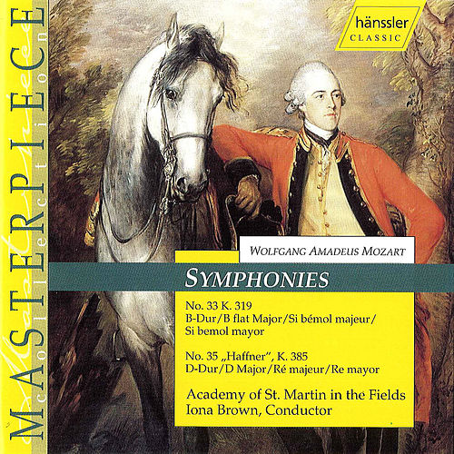 Mozart: Symphonies Nos. 33 and 35, 'Haffner' by Iona Brown