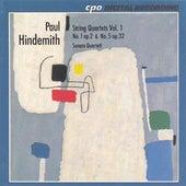 Hindemith: String Quartets Nos. 1 and 5 by Sonare Quartet
