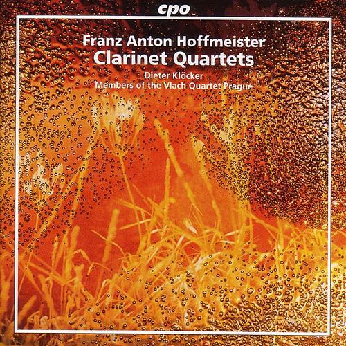 Hoffmeister: Clarinet Quartets by Dieter Klocker