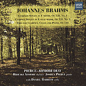 Brahms: Clarinet Sonatas 1 & 2; Clarinet Trio by Various Artists