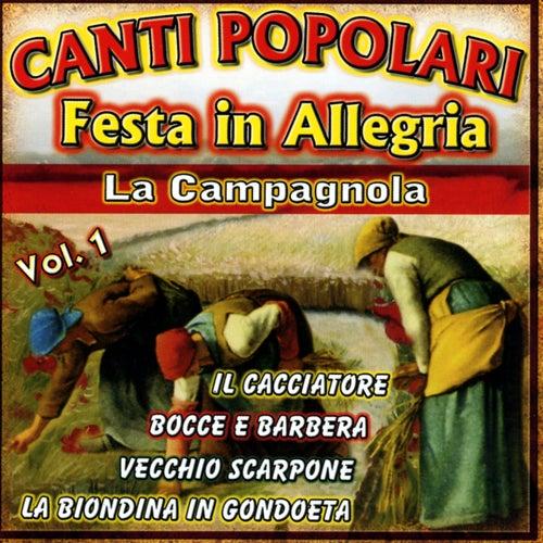 Canti popolari vol. 1 by Various Artists