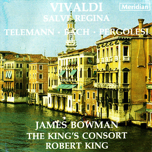 Vivaldi: Salve Regina - Telemann: Easter Cantata, et al. by James Bowman