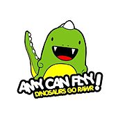 Dinosaurs Go Rawr by Amy Can Flyy