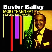 More Than That (Selected Recordings) by Buster Bailey