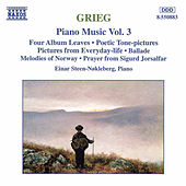 Piano Music Vol. 3 by Edvard Grieg