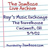 03-09-02 - The Barrelhouse - Cincinnati, OH by Ray's Music Exchange