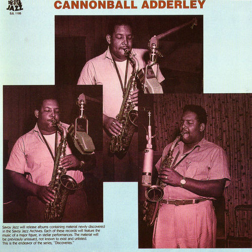 Discoveries by Cannonball Adderley
