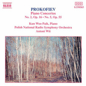 Piano Concertos Nos. 2 and 5 by Sergey Prokofiev