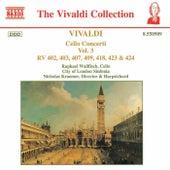Cello Concerti RV 402, 403, 407, 409, 418, 423 & 424 by Antonio Vivaldi