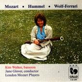 Mozart, Wolf-Ferrari, Hummel, Bassoon Concertos by Kim Walker