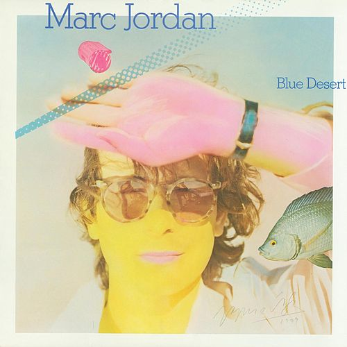 Blue Desert by Marc Jordan