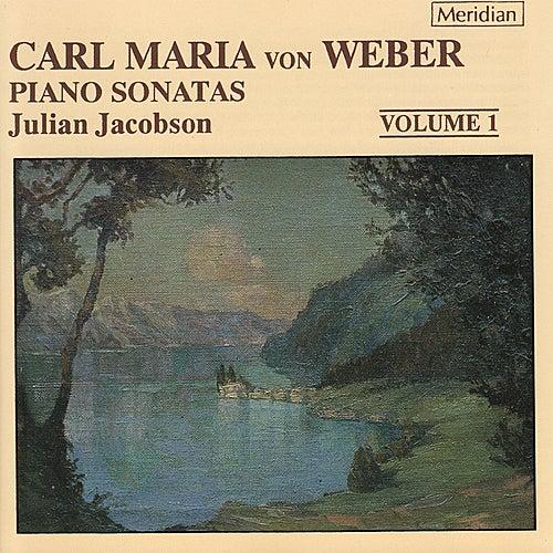 Weber: Piano Sonatas Volume 1 by Julian Jacobson