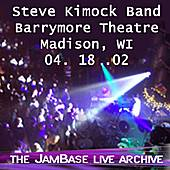 04-18-02 - Barrymore Theatre - Madison, WI by Steve Kimock Band